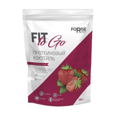 Протеиновый фитококтейль FIT-TO-GO (клубника)